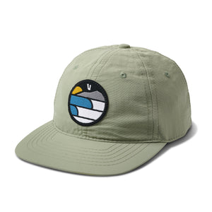 Waves Mountain Sun Hat | Grey