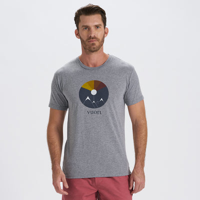 Mountain Light Tee | Heather Grey