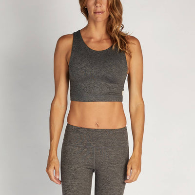 Altitude Sports Bra | Charcoal Heather
