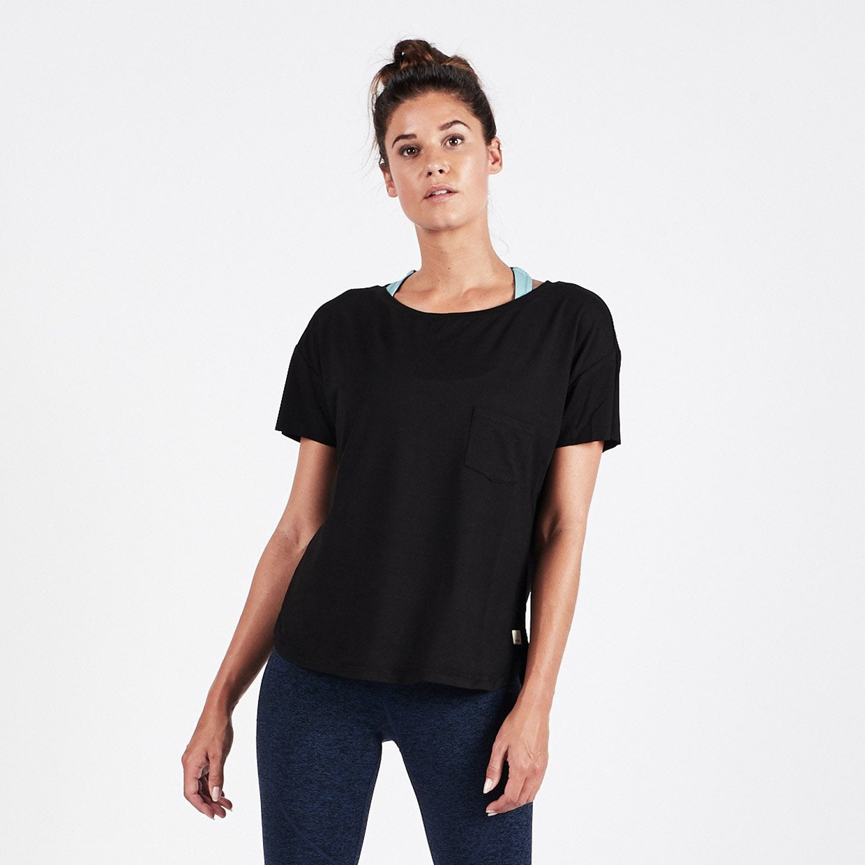 Lux Performance Tee - Black - Black 1