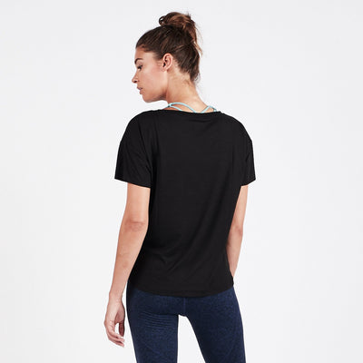 Lux Performance Tee | Black