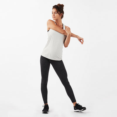Lux Performance Tank | Dove Grey