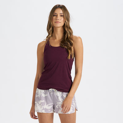 Lux Performance Tank | Cerise Heather
