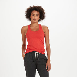 Lux Performance Tank | Melon Heather