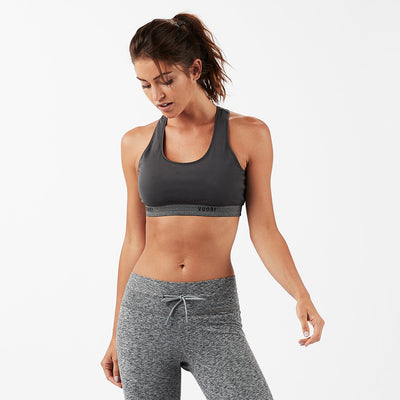 Interval Sports Bra | Charcoal