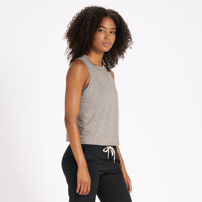 Energy Top | Heather Grey