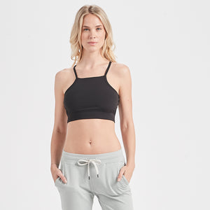 Madeleine Sports Bra | Black