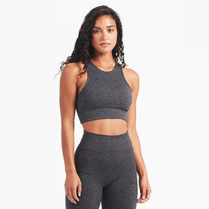 Juno Sports Bra | Charcoal Heather