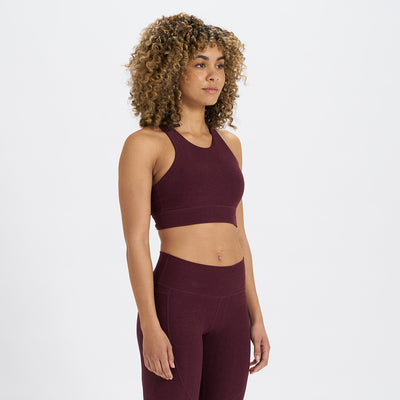Elevation Bra | Cerise Heather