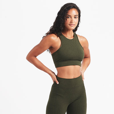 Elevation Bra | Evergreen Heather