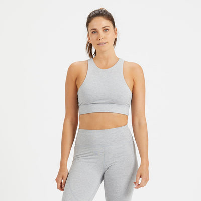 Elevation Bra | Light Heather Grey