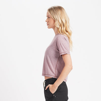 Chloe Tee | Dark Dusk Heather