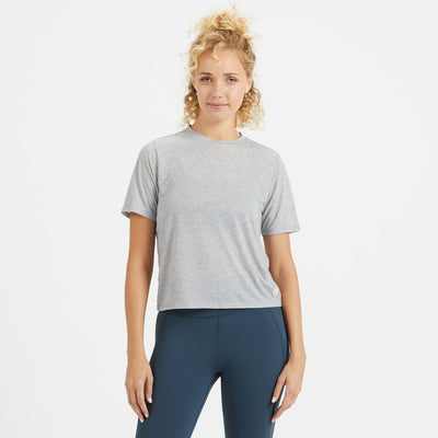 Chloe Tee | Light Heather Grey