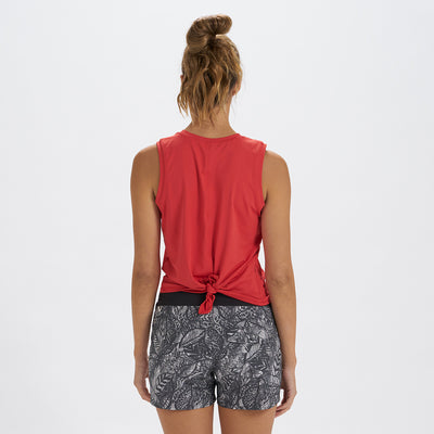 Holly Tie Back Water Tee | Melon