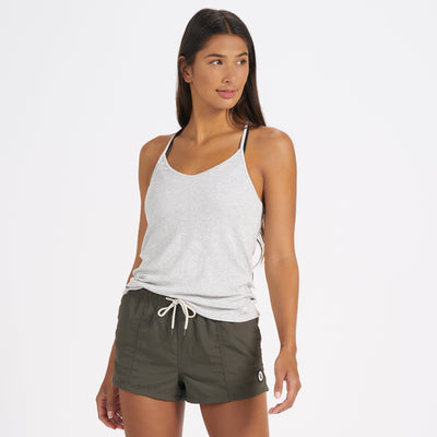 Cove Tank | Light Heather Grey