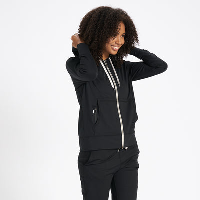 Halo Performance Hoodie | Black