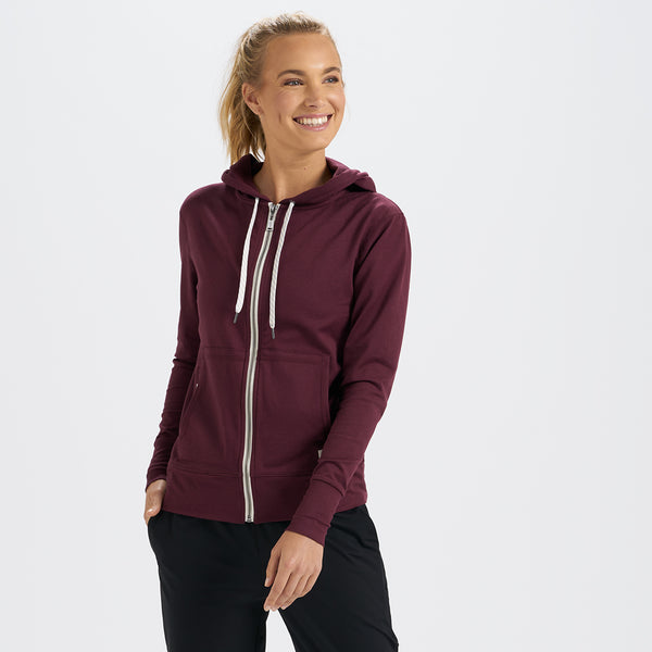Halo Performance Hoodie | Cerise Heather