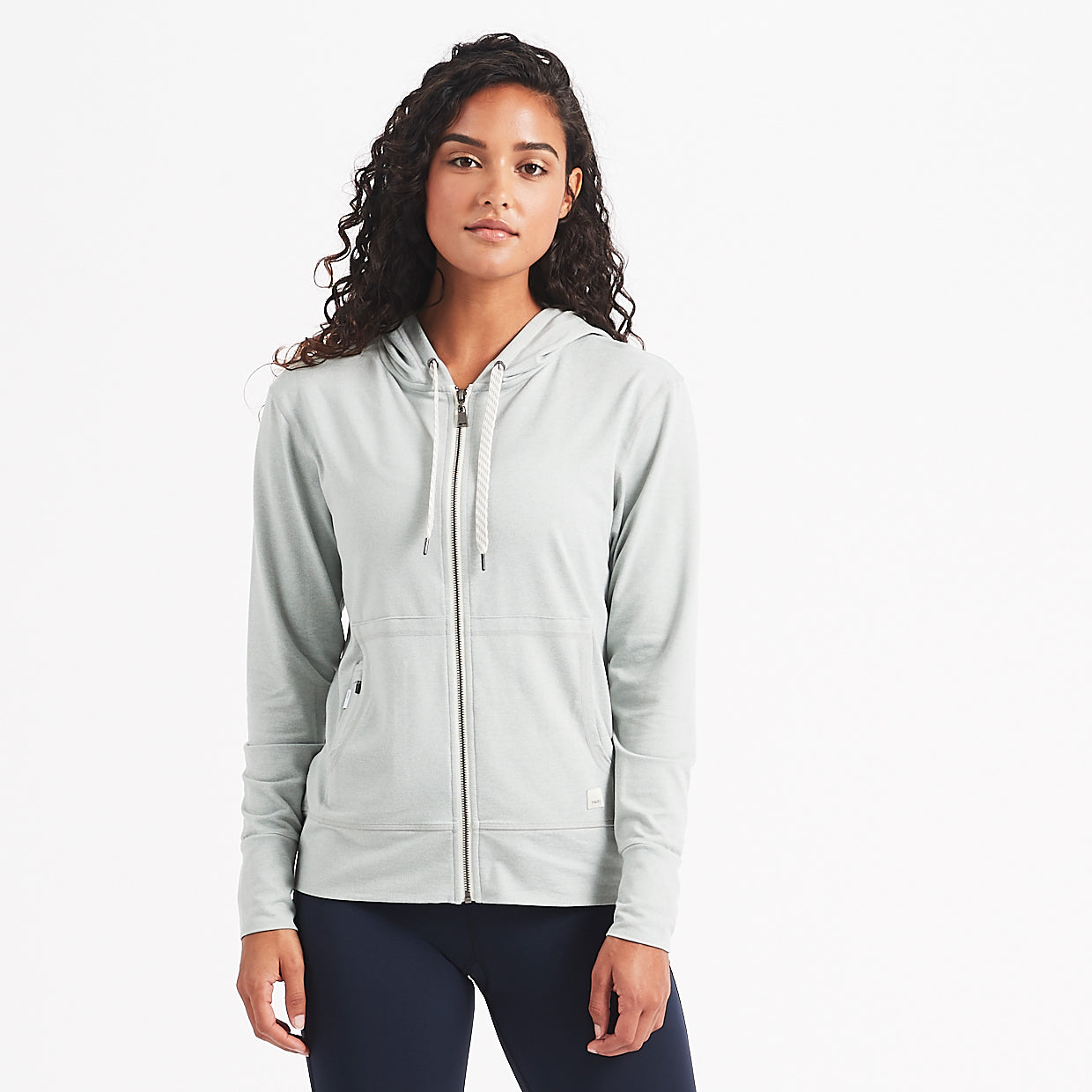 Halo Performance Hoodie | Sage Heather
