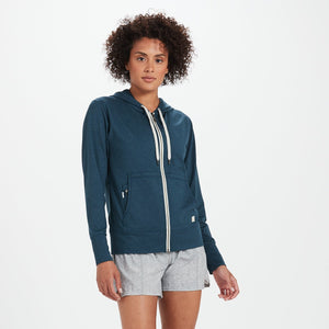 Halo Performance Hoodie | Indigo Heather