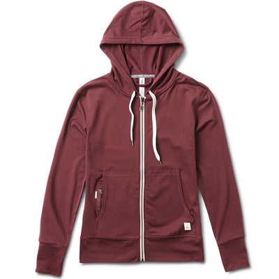 Halo Performance Hoodie | Bordeaux