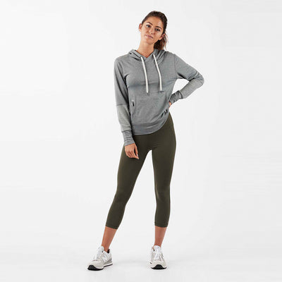 Cloudline Performance Hoodie | Heather Grey