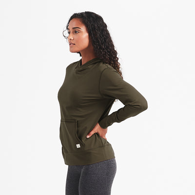 Halo Performance Pullover | Evergreen