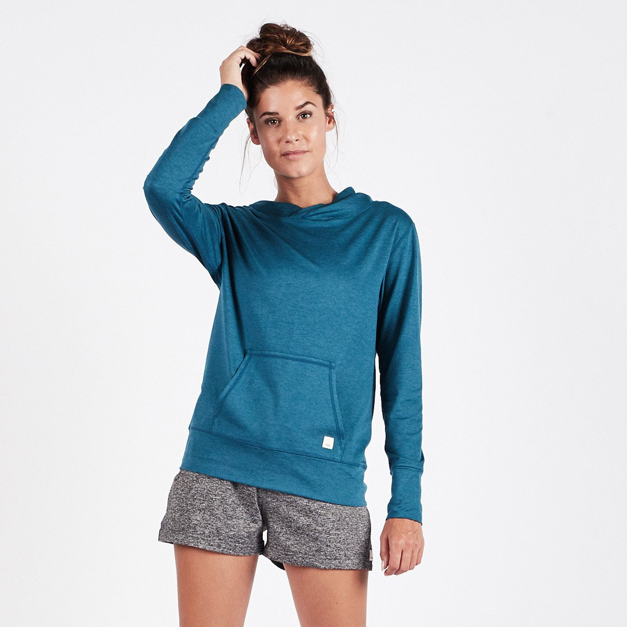 Halo Performance Pullover - Tide Heather - Tide Heather 1