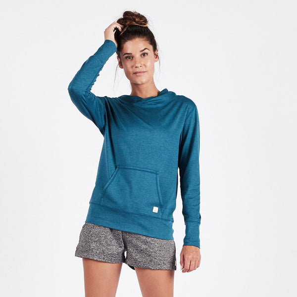 Halo Performance Pullover | Tide Heather