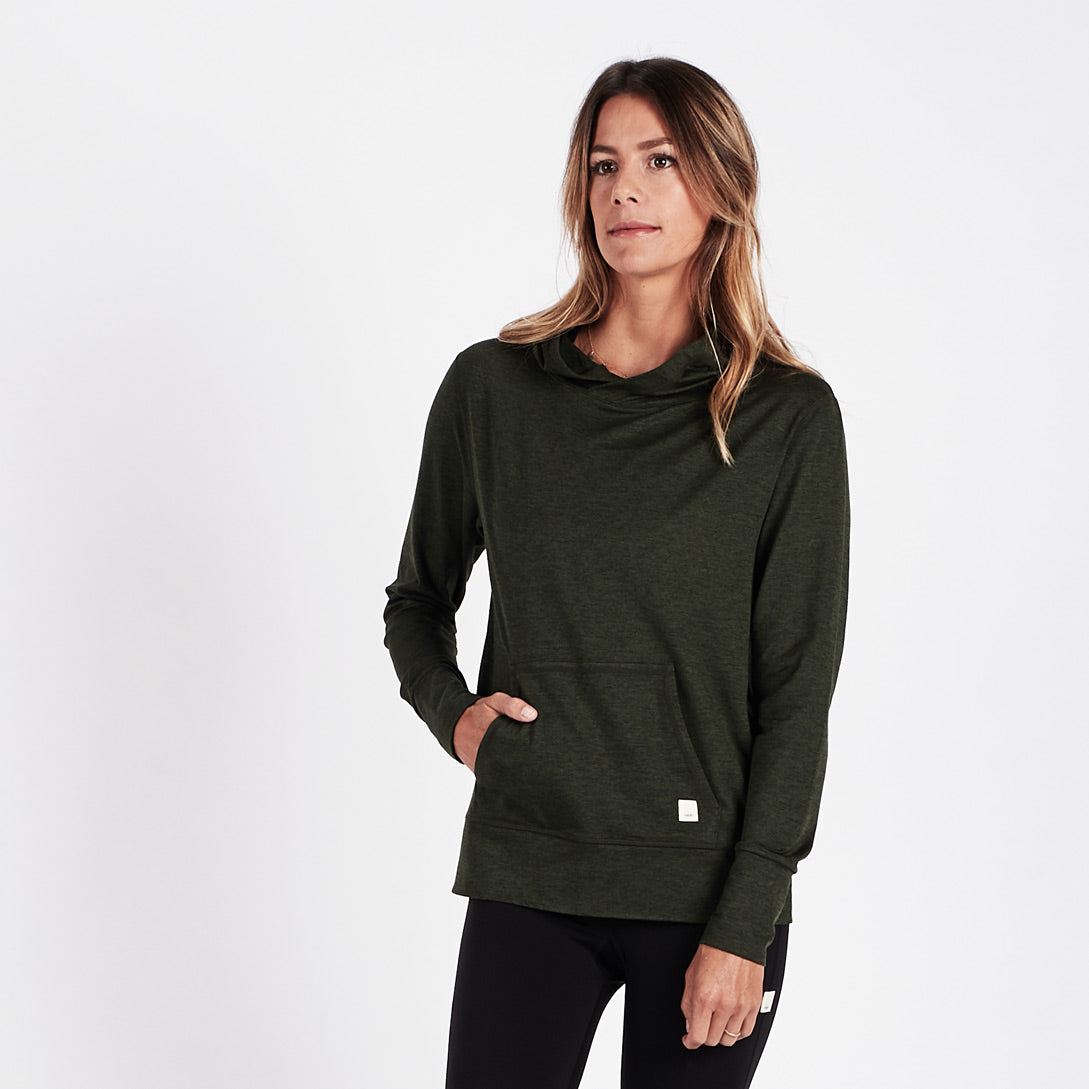 Halo Performance Pullover | Moss Heather