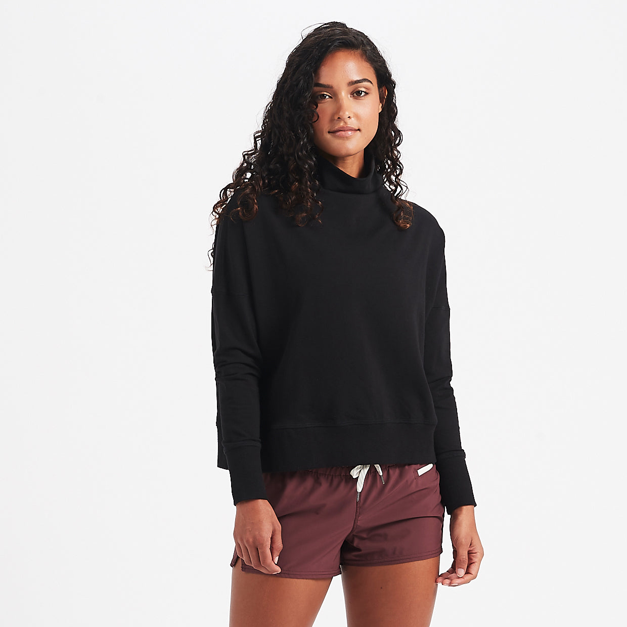 Cleo Sweatshirt | Black
