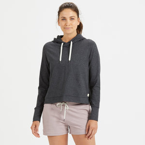 Halo Essential Hoodie | Charcoal Heather