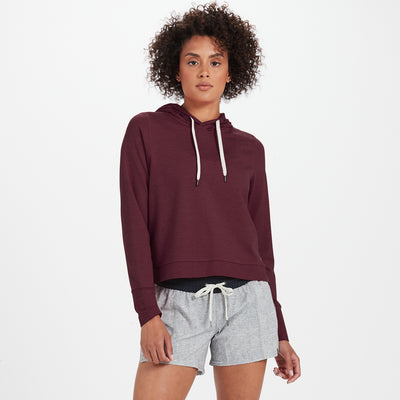 Halo Essential Hoodie | Cerise Heather