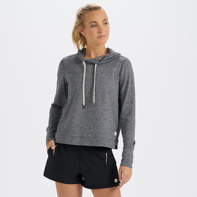 Halo Essential Hoodie | Heather Grey