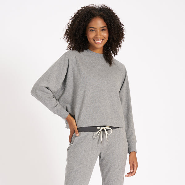 Catalina Crew | Heather Grey