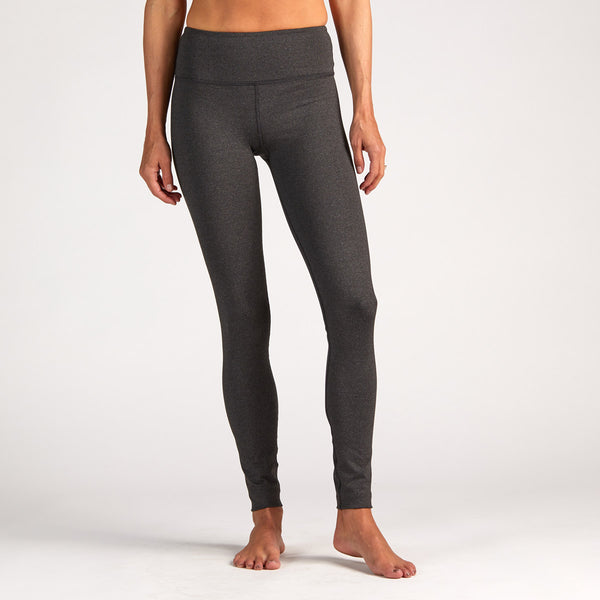 Omni Legging | Heather Charcoal