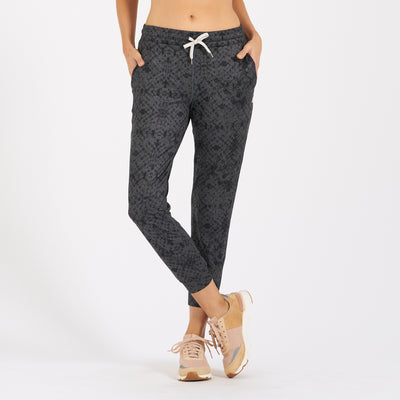 Performance Jogger | Charcoal Shibori