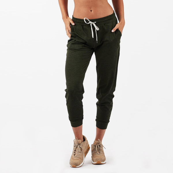 Performance Jogger | Moss Heather