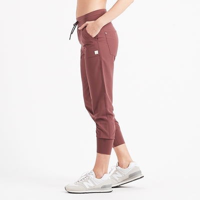Summits Woven Jogger | Fig
