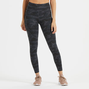 Elevation Performance Legging | Black Camo