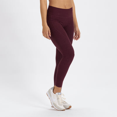 Elevation Performance Legging | Cerise Heather