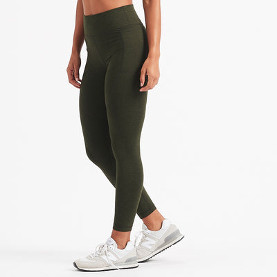 Elevation Performance Legging | Evergreen Heather