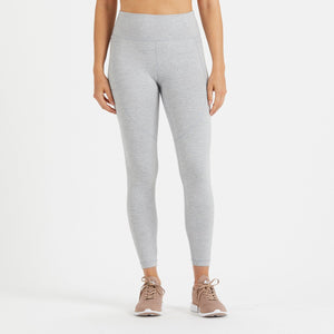 Elevation Performance Legging | Light Heather Grey