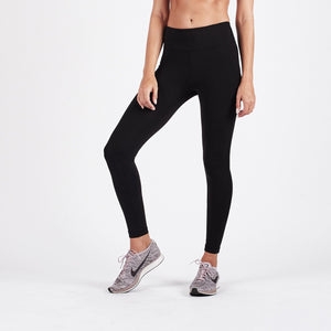 Pace High Rise Legging - Black - Black 1