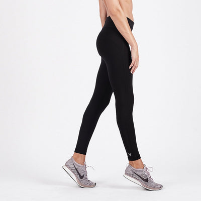 Pace High Rise Legging | Black