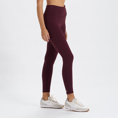 Pace High Rise Legging | Cerise