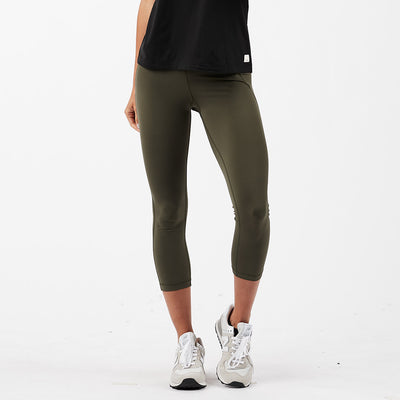 Pace High Rise Legging | Moss