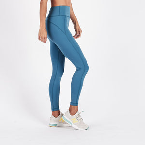 Pace High Rise Legging - Tide - Tide 1
