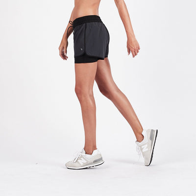 Breeze Performance Short | Charcoal