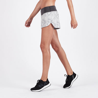 Omni Performance Short | Grey Dunes Texture
