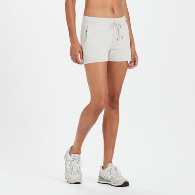 Halo Performance Short | Dove Grey Heather
